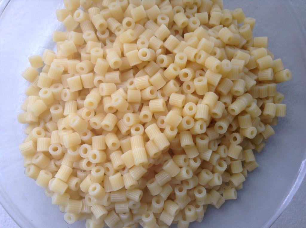 tubetti rigati cotti - Macaroni and cheese